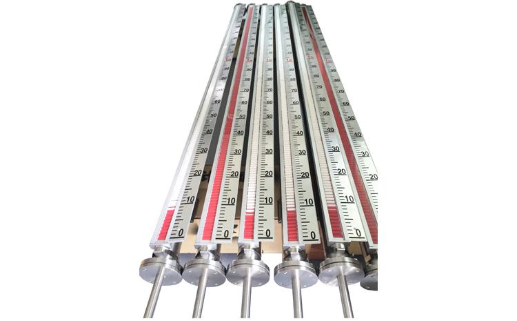 磁翻板液位计在工业中的应用